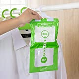 Clothful  190g Interior Dehumidifier Desiccant Damp Storage Hanging Bags Wardrobe