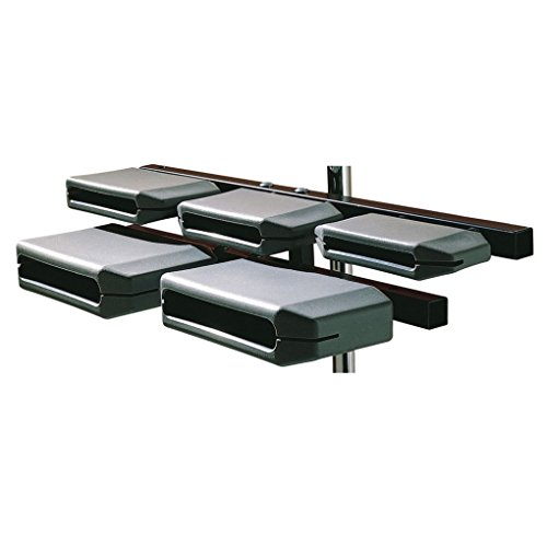 Latin Percussion LP1210 Granite Block Set with Mounting Clamp