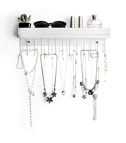 Hanging Jewelry Organizer for Wall