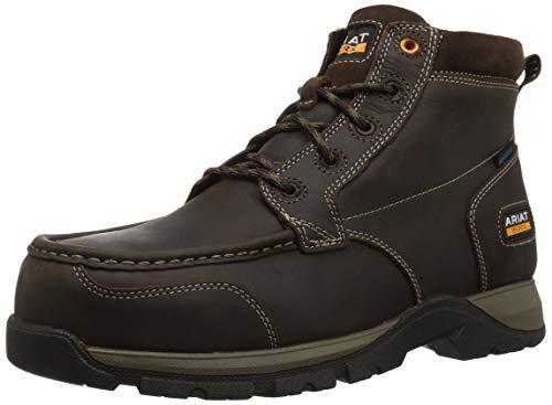 - Ariat Work Men's EDGE LTE CHUKKA H2O Composite Toe Boot, dark brown, 10.5 D US