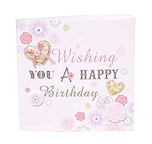 20 Pack Cute Painted Blank Birthday Party Invitation Cards with Envelopes