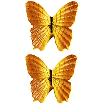 Kylin Express Set Of 2 Beautiful Butterfly Drawer Pull Handles