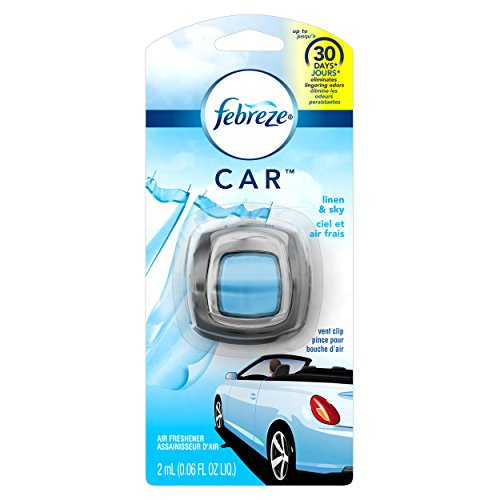 Febreze CAR Air Freshener Linen & Sky (0.06 oz)(pack of 8)