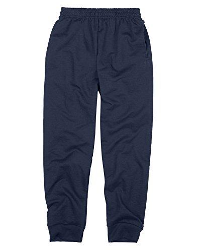 Hanes Boy`s FreshIQ Jogger Sweatpant, 2XL, Navy