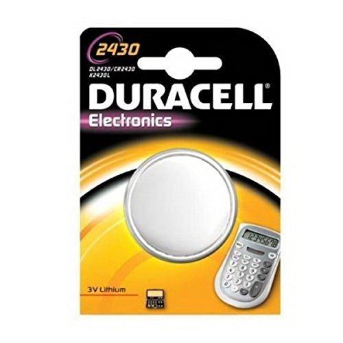 1 opinioni per Duracell Pila a bottone al litio CR2430 3V