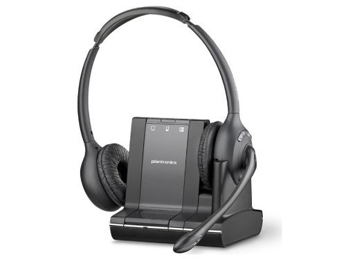 Plantronics Savi W720 Multi-Device Wireless Headset System – US Warranty – Black