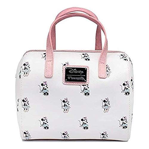 - Loungefly Minnie Mouse All Over Print Duffle Bag