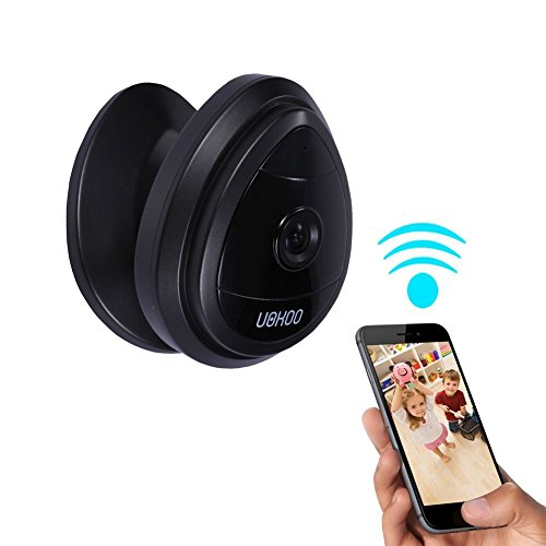 Wireless UOKOO Security Surveillance Black