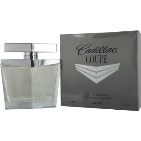 (Cadillac Coupe Eau de Toilette Spray for Men, 3.4 Ounce)