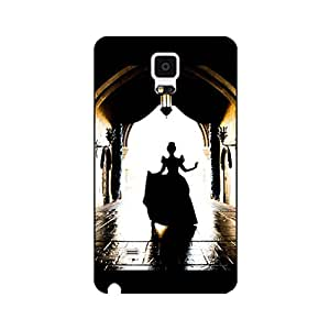 Classical Design Cartoon Cinderella Phone Case for Samsung Galaxy Note 4 Nice Style Disney Comic Cinderella Cover Case