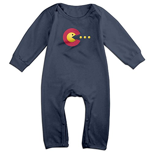 [YOUD X-max Gift Newborn Colorado Flag Long Sleeve Climbing Clothes 24 Months] (Baby Ruth Costume)