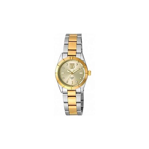 Radiant Reloj Analógico para Mujer de Cuarzo con Correa en Acero Inoxidable BA06202: Amazon.es: Relojes