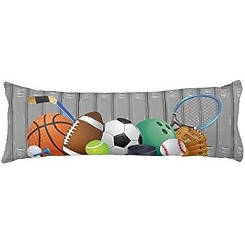 Amazon Com Arightex Sports Body Pillow Covers Balls