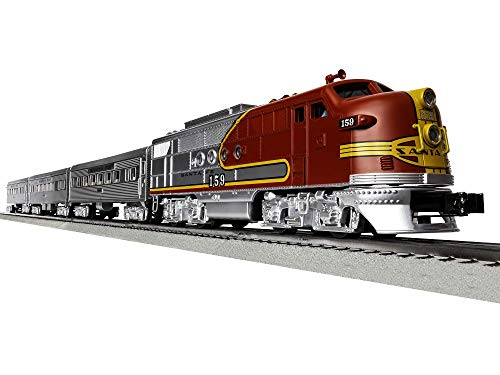 Lionel Santa Fe Super Chief Electric O Gauge Model Train Set w/ Remote and Bluetooth Capability from Lionel