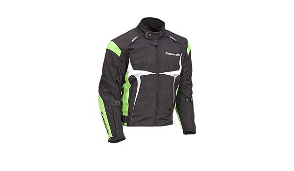 Kawasaki Sports textil Chaqueta verde. Moto Chaqueta. NUEVO. Talla XL Negro Verde Blanco de bikerworld: Amazon.es: Coche y moto