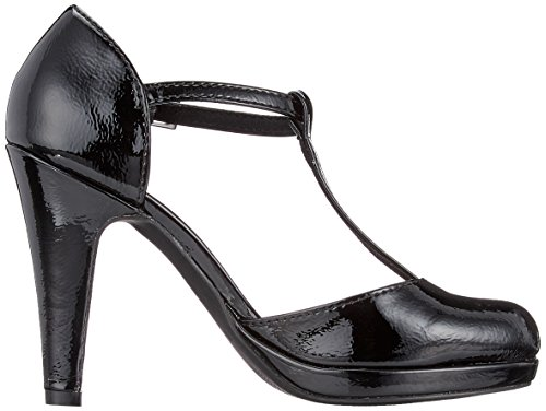 Scarpe con 24416 T Patent Chiusura Black Tozzi Nero a Donna Marco xaptEqO