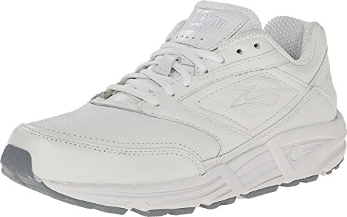 Brooks Men 's Addiction Walker Walking Zapato, color Blanco, talla 13 D (Best Walking Shoes For Pronation Control)