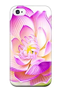 Protection Case For Iphone 4/4s / Case Cover For Iphone(lotus Flower Online)