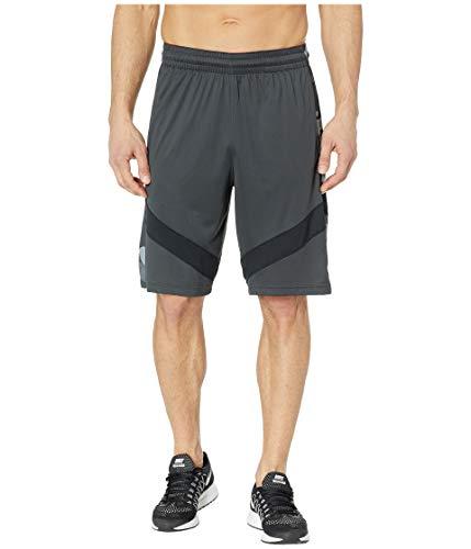 Nike Men's Dri Fit Printed Basketball Shorts Anthracite/Black/White Size Medium