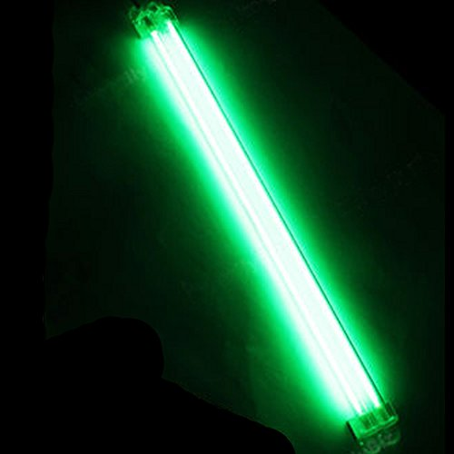 ESUPPORT 12 Inch 30cm Car Green Undercar Underbody Neon Kit Lights CCFL Cold Cathode Pack of 2