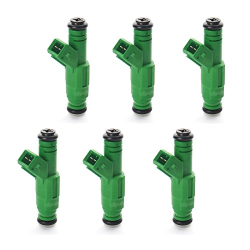 6 x New 42LB 440CC 0280155968 EV1 Replaces Fuel injectors For Ford Jeep Audi