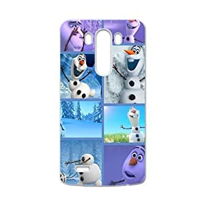 HDSAO Frozen lovely happy snow man Cell Phone Case for LG G3