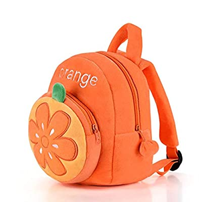 Gloveleya Girls Backpacks Kids Backpack for Girls Gifts Book Bags for Kindergarten Orange 9 Inches | Kids' Backpacks