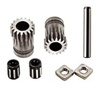 FYSETC 3D Printer Accessories Upgrade MK2/MK3 Parts Drive Gear Kit Cloned Btech Dual Gears Steel Pulleys Kit Gears Extrusion Wheel for DIY Prusa i3 by Fuyuansheng