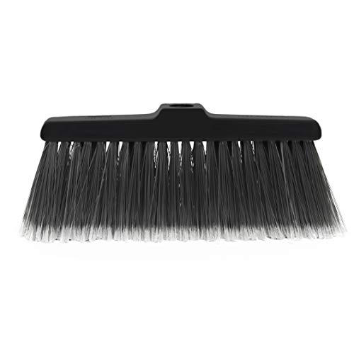 Fuller Brush Kitchen Broom Head - Heavy Duty Floor Sweeper with Fine Long Bristles - Dust Sweeping for Home/Commercial Kitchen & Warehouse Floors (Head for Broom Only) (Dustpan Brush Broom And Fuller)