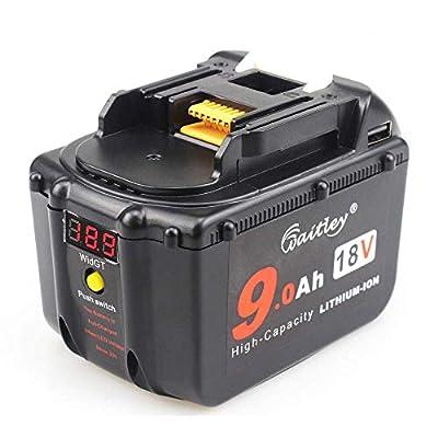 TenMore BL1830 18V 9.0Ah for Makita BL1890 18-Volt Li-ion High Demand Battery