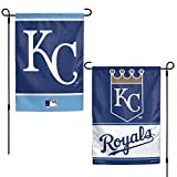 WinCraft Kansas City Royals Flag 12x18 Garden Style 2 Sided