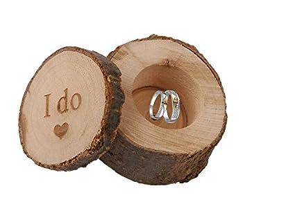 Madera caja de anillos de boda anillos de soporte, personalizado diseño caja, personalizado caja