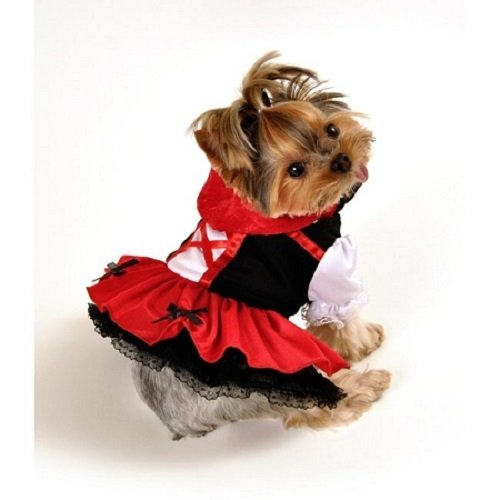 PetsRFriends Domestic Pet Happy Halloween Little Red Riding Hood Dog Costume