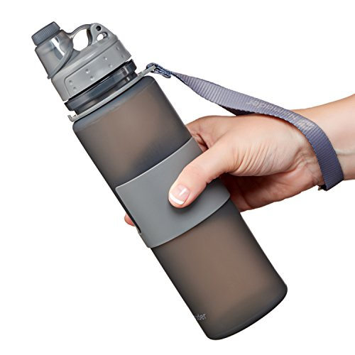 Nomader Collapsible Sports Water Bottle