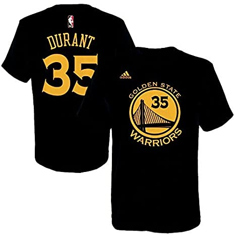 c2c78fb1254 Amazon.com : Kevin Durant Youth Golden State Warriors Black Name and ...
