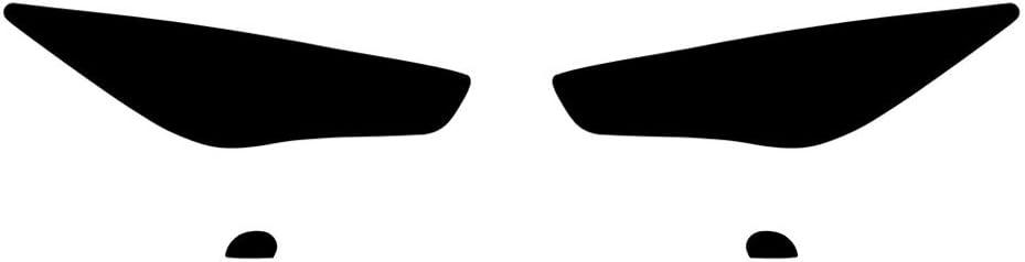 M45 2006-2010 Rvinyl Rtint Headlight Tint Covers for Infiniti M35 Film Clear
