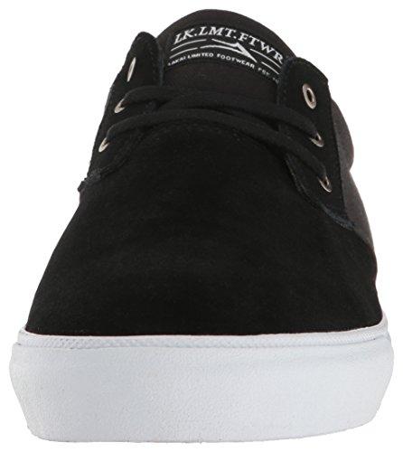 Zapatos Lakai Daly Negro Suede