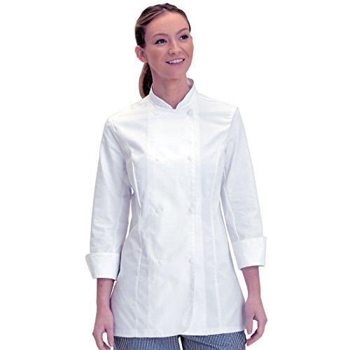 mujer DD33LE color de Chaqueta 2XL manga XL talla blanco larga Denny's para qUOwFgU