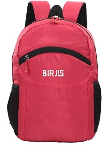 BIRJIS Waterproof Backpack Bag  Red, 30 L