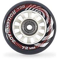 Rollerblade Ruedas Pack 72/80A+SG5+6MMSP (8PCS), Adultos Unisex, Multicolor