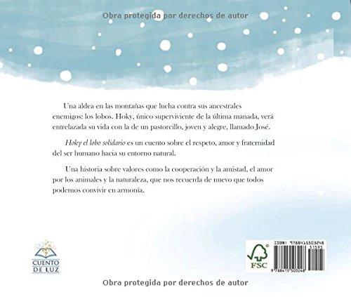 Hoky el lobo solidario (Spanish Edition) by Cuento de Luz (Image #1)