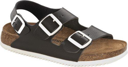 Birkenstock Back Strap ''Milano SL'' from Leather in Black 36.0 EU N