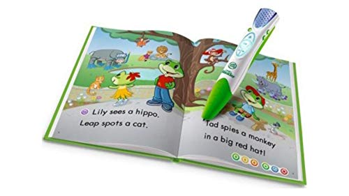 Léapfròg.. LéapReader Reading and Writing System - Green Imaginative Story Book with Lively Character Voices