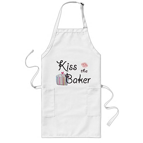 sunningq Kiss The Bakerロングエプロン   B01E564KPA