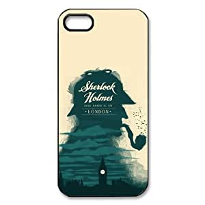 Magical Shop Sherlock Holmes Impressionism Cheap Custom Hard Cases for Iphone 5,5S