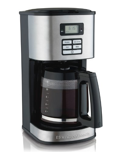 4 cup coffee maker with timer - 3