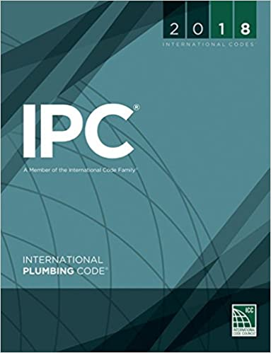 2018 International Plumbing Code (International Code Council Series