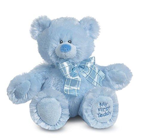 G Ganz Baby Boy Plush Stuffed Animal Toy 8 inches - My First Teddy Bear ()
