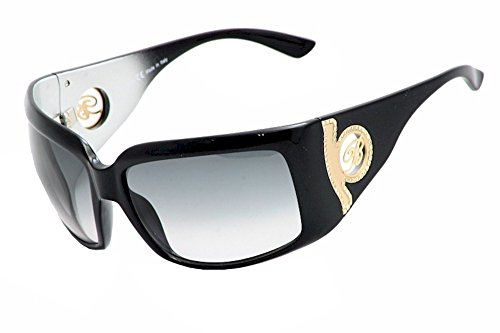 Blumarine Women's BM96461 BM/96461 118 Black/Gold Fashion Sunglasses - Sunglasses Blumarine