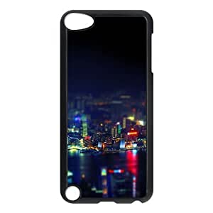 For Iphone 6 Phone Case Cover Hongkong Night Cityscape Light Hard Shell Back Black For Iphone 6 Phone Case Cover 306708
